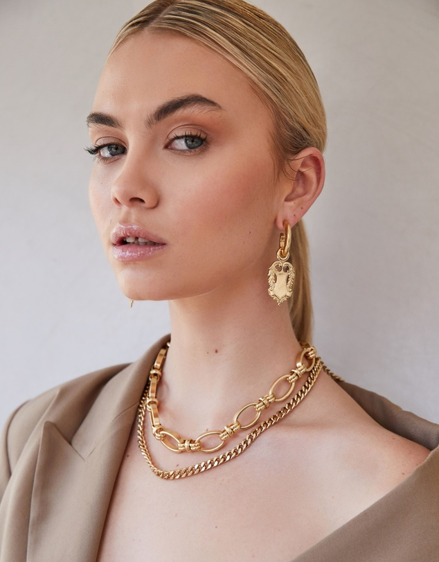 Women Amulet Earrings