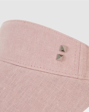 Bondi Peak Notts Avenue Visor - Hats (Pink)