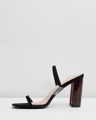 Billini Xani - Heels (Black & Clear)