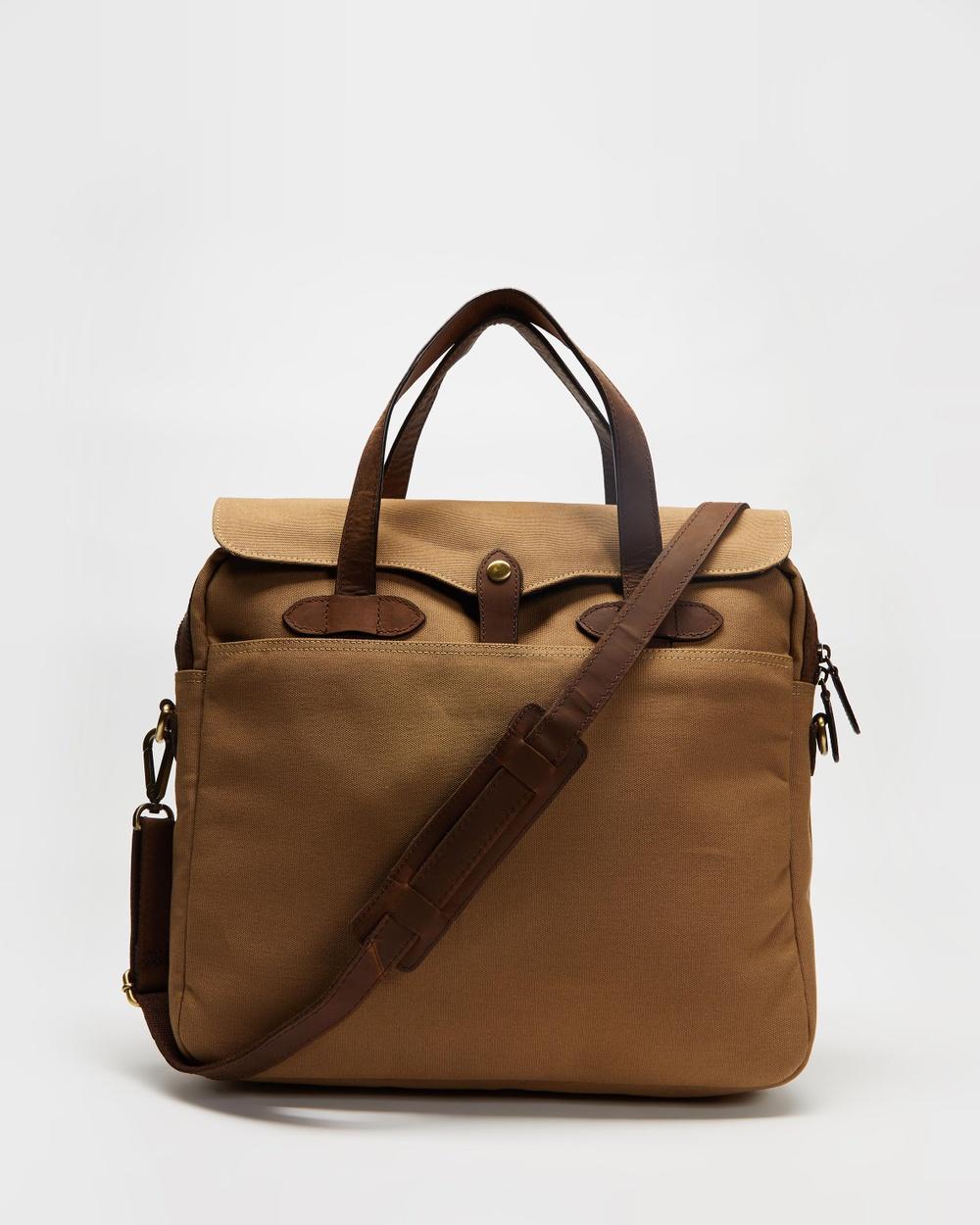 Double Oak Mills Crossbody Messenger Bag Bags Dirty Sand