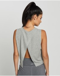 Beyond Yoga - Over The Top Cropped Muscle Tank