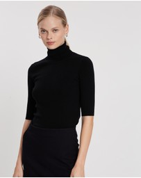 Filippa K - Merino Elbow Sleeve Top