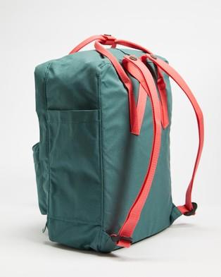 Fjallraven Kanken - Backpacks (Frost Green & Peach Pink)