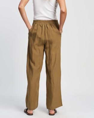 Andrea & Joen Ebony Trousers - Pants (Tan)