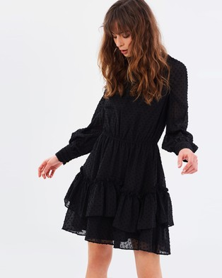 Buy Talulah - Sweet Allure LS Mini Dress Black -  shop Talulah dresses online