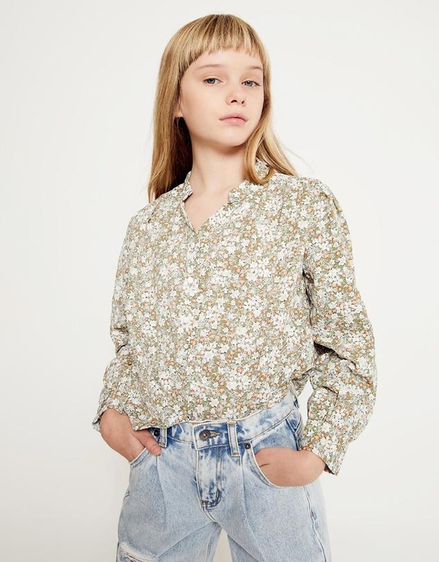 Kids Serenity Floral Shirt - Teens