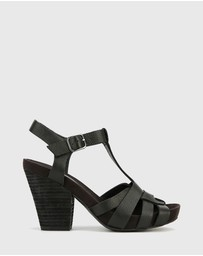 Wittner - Carlino T-Bar Block Heels