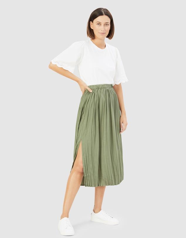 Women Soft Pull On Skirt