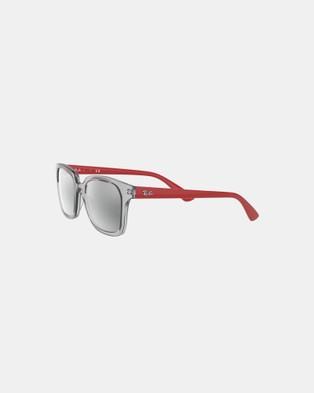 RaBan Junior - Junior Wayfarer   Kids Sunglasses (Grey)