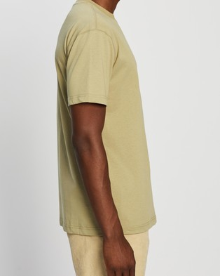Locale Heavy SS Work Tee - T-Shirts & Singlets (Green)