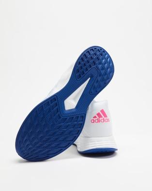 Australia adidas Performance Duramo SL Women's Shoes Footwear White, Screaming Pink & Dash Grey