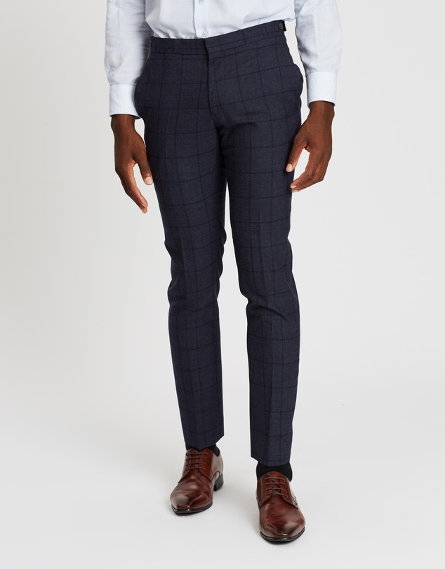 Ben Sherman - British Windowpane Trousers