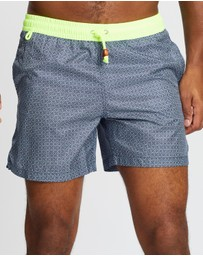 Gili's - THE ICONIC EXCLUSIVE - Azulejos Trawangan Light Boardshorts