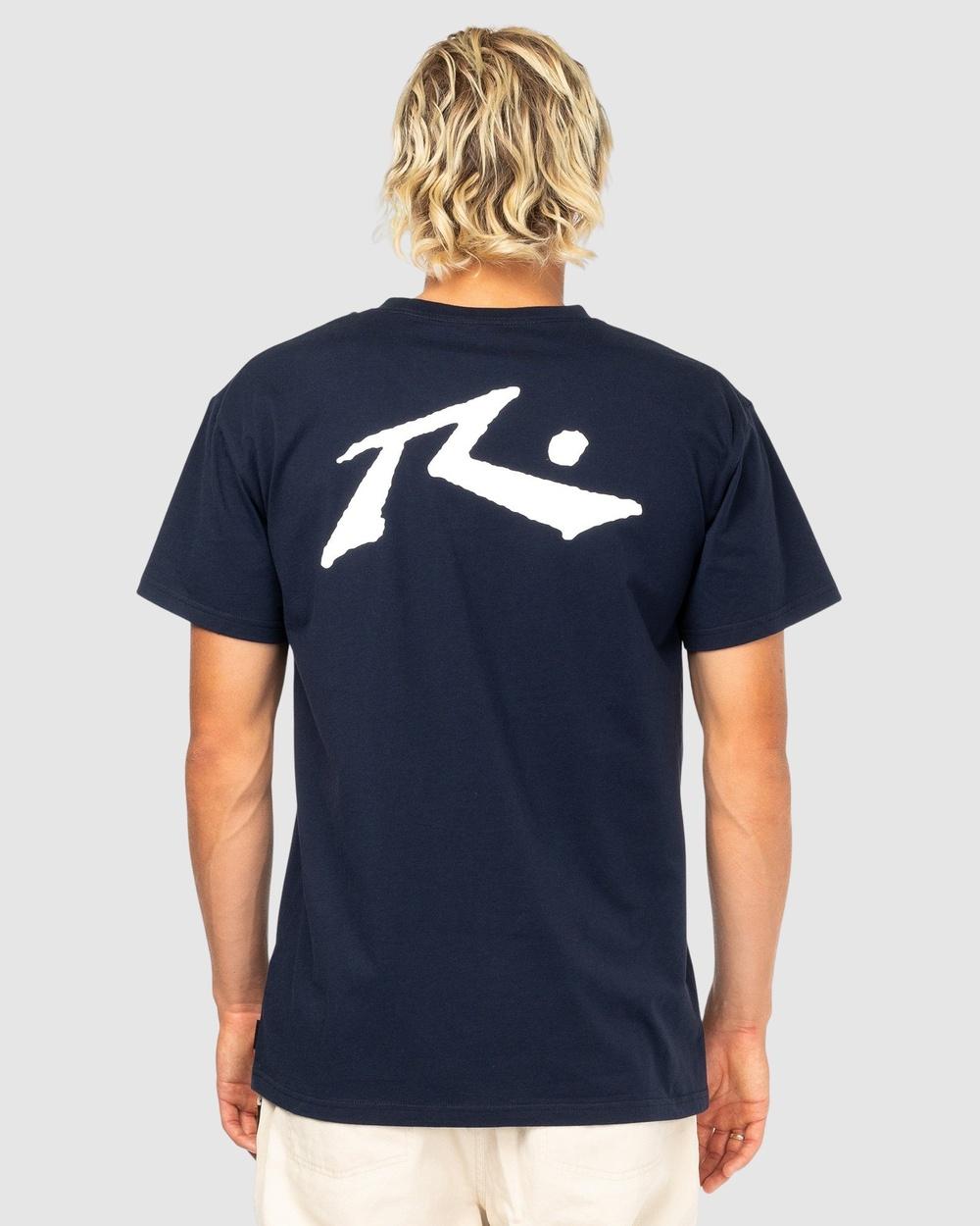 Rusty Competition Short Sleeve Tee T-Shirts NVB Australia