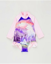 Rock Your Baby - ICONIC EXCLUSIVE - Magic In The Air Frill Long Sleeve One-Piece - Babies