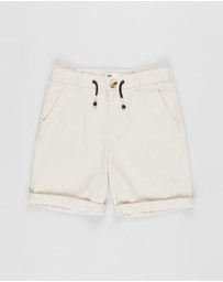 Cotton On Kids - Lionel Chino Shorts - Kids-Teens