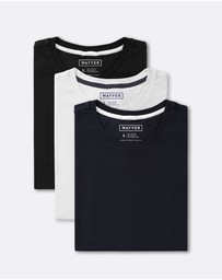 WAYVER - The Core Slim Fit Crew Tee 3-Pack