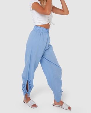 Madison The Label Serena Pants - Pants (Pastel Blue)