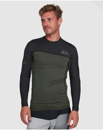 Quiksilver - Mens Core Performer Long Sleeve UPF 50 Rash Vest