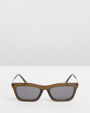 Reality Eyewear Bowery  - Sunglasses (Olive)