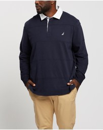 NAUTICA - Long Sleeve Rugby Jersey