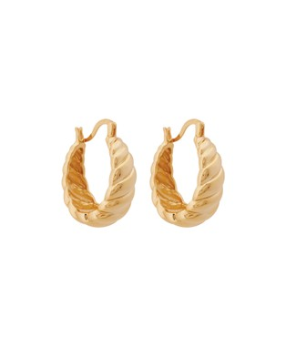 ALIX YANG - Mona Hoops Jewellery (Gold)