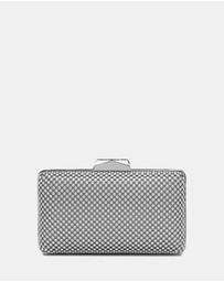 Olga Berg - Natasha Ball Mesh Clutch