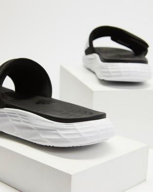 adidas Performance Duramo SL Slides   Men's - Slides (Core Black, Cloud White & Cloud White)
