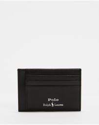 Polo Ralph Lauren - Smooth Leather Money Clip Card Case