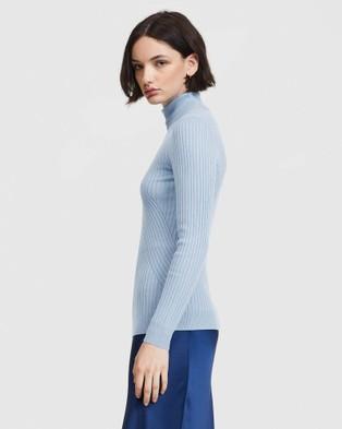 ARIS Turtleneck Sweater - Tops (Blue)