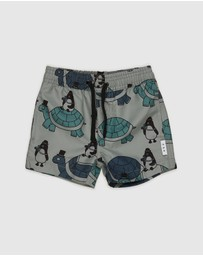 Huxbaby - Turtle Tour Swim Shorts - Kids