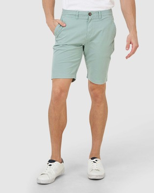 Superdry International Chino Short - Chino Shorts (Fresh Mint)