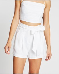 Atmos&Here - Tori Tie-Front Shorts