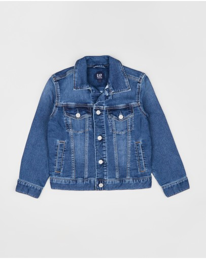 GapKids - Icon Supersoft Denim Jacket - Teens