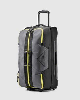 High Sierra Dells Canyon 71cm Wheeled Duffle - Duffle Bags (Mercury & Yellow)