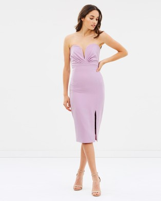 Bardot – Mae Dress Lilac Mist