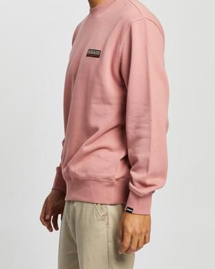 Napapijri Base C   Unisex - Sweats (Pink Old Rose)