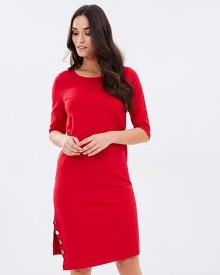 Armani Jeans – Vestito Dress – Dresses (Rosso)