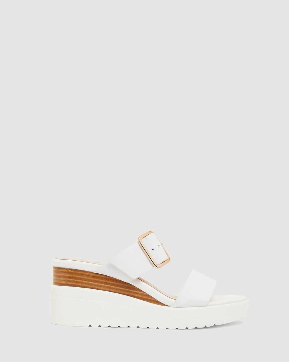 Jane Debster Indulge Sandals WHITE