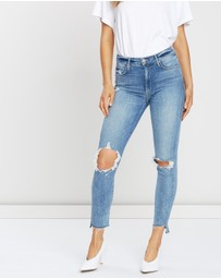 Mother Denim - The Stunner Ankle Strap Fray Jeans