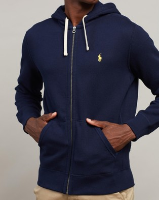 Polo Ralph Lauren Classic Fleece Hoodie - Hoodies (Navy)