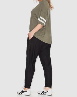 17 Sundays Casablanca Harem Pants - Pants (Black)