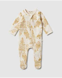 Wilson & Frenchy - Organic Zipsuit with Feet - Babies