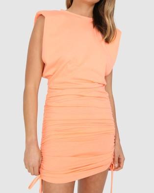 BY.DYLN Miles Dress - Dresses (Peach)