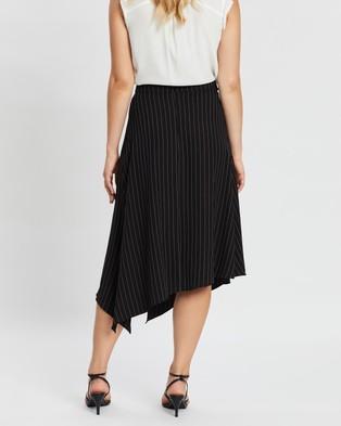 Forcast Oakley Striped Skirt - Skirts (Black)