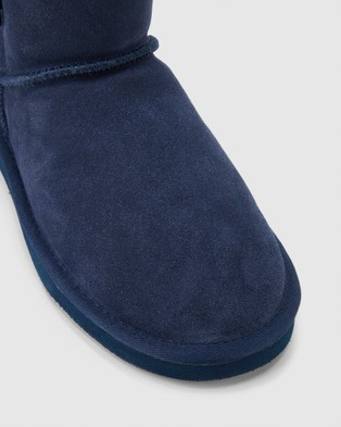 Hush Puppies Lounge - Slippers & Accessories (Midnight Suede)