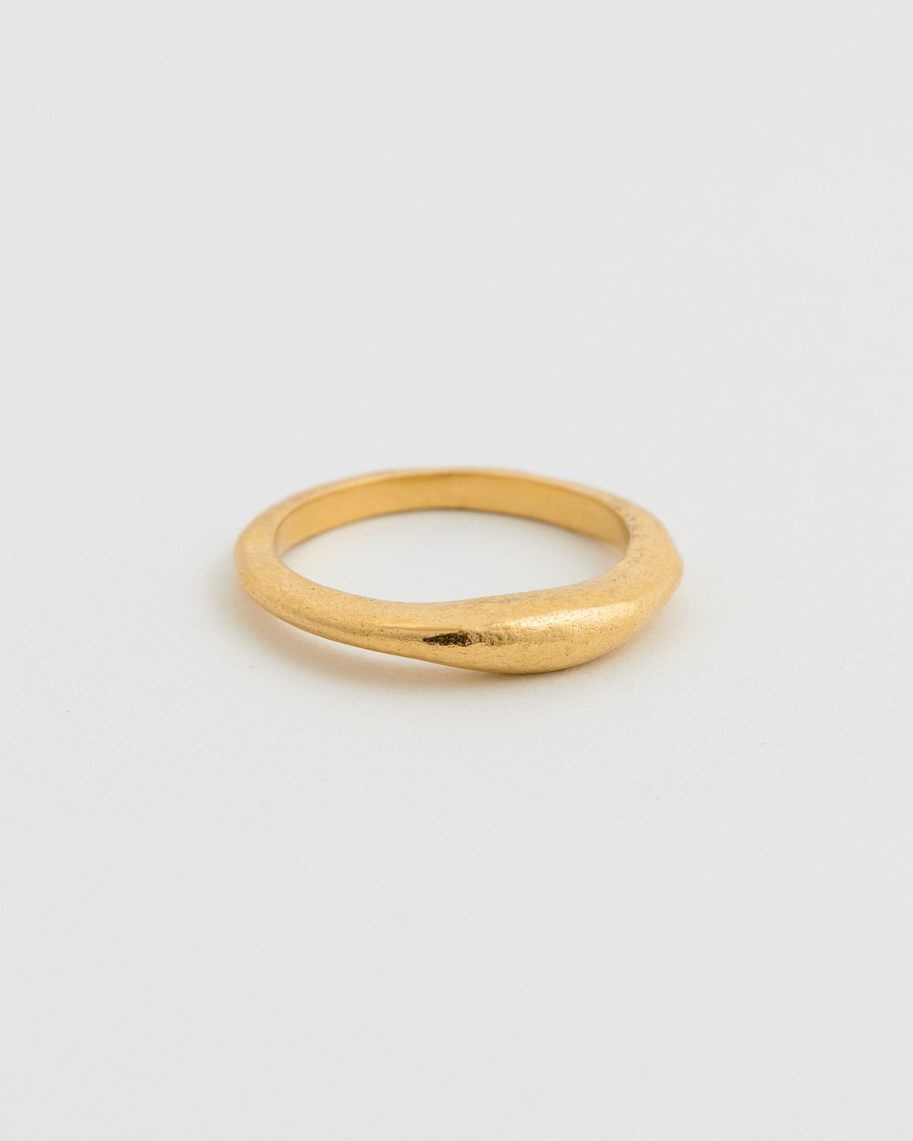 Kirstin Ash Golden Light Stacking Ring Jewellery Gold