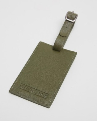 Stitch & Hide Miles Luggage Tag - Travel and Luggage (Olive)