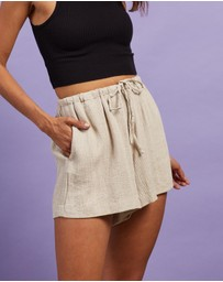 Nude Lucy - Rumi Linen Shorts