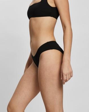 BONDI BORN Nadia Bikini Bottoms - Bikini Bottoms (Black)